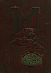 1932 Edition, Maysville High School - Calx Yearbook (Maysville, KY)