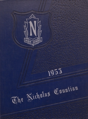 Page 1, 1953 Edition, Nicholas County High School - Nicholas Countian Yearbook (Carlisle, KY) online yearbook collection