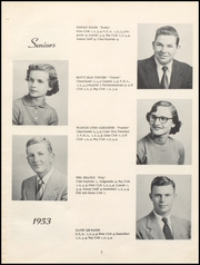 Page 11, 1953 Edition, Nicholas County High School - Nicholas Countian Yearbook (Carlisle, KY) online yearbook collection