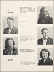 Page 12, 1953 Edition, Nicholas County High School - Nicholas Countian Yearbook (Carlisle, KY) online yearbook collection