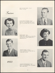 Page 13, 1953 Edition, Nicholas County High School - Nicholas Countian Yearbook (Carlisle, KY) online yearbook collection
