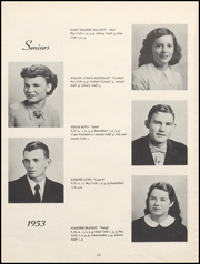 Page 14, 1953 Edition, Nicholas County High School - Nicholas Countian Yearbook (Carlisle, KY) online yearbook collection