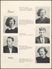 Page 15, 1953 Edition, Nicholas County High School - Nicholas Countian Yearbook (Carlisle, KY) online yearbook collection