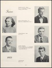 Page 16, 1953 Edition, Nicholas County High School - Nicholas Countian Yearbook (Carlisle, KY) online yearbook collection