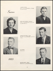 Page 17, 1953 Edition, Nicholas County High School - Nicholas Countian Yearbook (Carlisle, KY) online yearbook collection