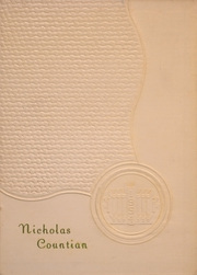 Page 1, 1954 Edition, Nicholas County High School - Nicholas Countian Yearbook (Carlisle, KY) online yearbook collection