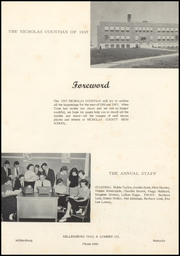 Page 5, 1957 Edition, Nicholas County High School - Nicholas Countian Yearbook (Carlisle, KY) online yearbook collection