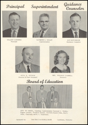 Page 7, 1957 Edition, Nicholas County High School - Nicholas Countian Yearbook (Carlisle, KY) online yearbook collection