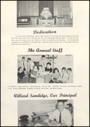 Page 6, 1958 Edition, Nicholas County High School - Nicholas Countian Yearbook (Carlisle, KY) online yearbook collection