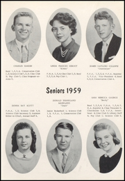 Page 13, 1959 Edition, Nicholas County High School - Nicholas Countian Yearbook (Carlisle, KY) online yearbook collection