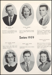 Page 14, 1959 Edition, Nicholas County High School - Nicholas Countian Yearbook (Carlisle, KY) online yearbook collection