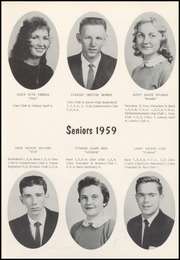 Page 15, 1959 Edition, Nicholas County High School - Nicholas Countian Yearbook (Carlisle, KY) online yearbook collection