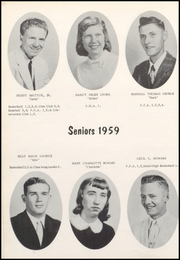 Page 16, 1959 Edition, Nicholas County High School - Nicholas Countian Yearbook (Carlisle, KY) online yearbook collection