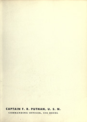 Page 11, 1953 Edition, Deuel (APA 160) - Naval Cruise Book online yearbook collection