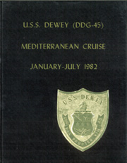 Page 1, 1982 Edition, Dewey (DDG 45) - Naval Cruise Book online yearbook collection