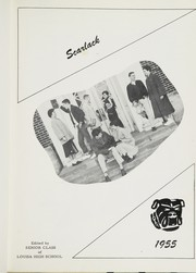 Page 5, 1955 Edition, Louisa High School - Scarlack Yearbook (Louisa, KY) online yearbook collection