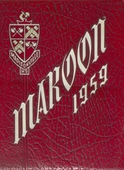 Page 1, 1959 Edition, Madisonville High School - Maroon Yearbook (Madisonville, KY) online yearbook collection
