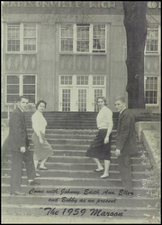 Page 5, 1959 Edition, Madisonville High School - Maroon Yearbook (Madisonville, KY) online yearbook collection
