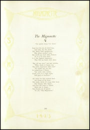 Page 9, 1923 Edition, St Marys Academy - Mignonette Yearbook (Paducah, KY) online yearbook collection