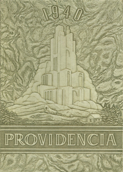 1940 Edition, Providence High School - Providencia Yearbook (Providence, KY)