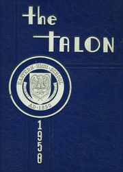 1958 Edition, Eastern High School - Talon Yearbook (Middletown, KY)
