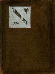 Tulane University - Jambalaya Yearbook (New Orleans, LA) online yearbook collection, 1903 Edition, Page 1