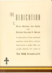 Page 12, 1938 Edition, Tulane University - Jambalaya Yearbook (New Orleans, LA) online yearbook collection
