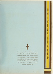 Page 17, 1938 Edition, Tulane University - Jambalaya Yearbook (New Orleans, LA) online yearbook collection