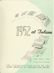 Page 5, 1952 Edition, Tulane University - Jambalaya Yearbook (New Orleans, LA) online yearbook collection