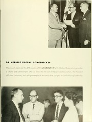Page 13, 1962 Edition, Tulane University - Jambalaya Yearbook (New Orleans, LA) online yearbook collection