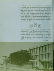 Page 8, 1965 Edition, Tulane University - Jambalaya Yearbook (New Orleans, LA) online yearbook collection