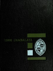 Page 1, 1966 Edition, Tulane University - Jambalaya Yearbook (New Orleans, LA) online yearbook collection