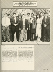 Page 205, 1988 Edition, Tulane University - Jambalaya Yearbook (New Orleans, LA) online yearbook collection