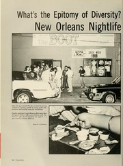 Page 84, 1988 Edition, Tulane University - Jambalaya Yearbook (New Orleans, LA) online yearbook collection