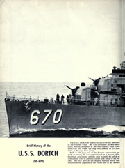 Page 6, 1953 Edition, Dortch (DD 670) - Naval Cruise Book online yearbook collection