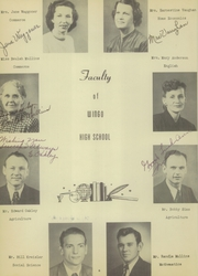 Page 12, 1950 Edition, Wingo High School - Warrior Yearbook (Wingo, KY) online yearbook collection