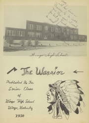 Page 7, 1950 Edition, Wingo High School - Warrior Yearbook (Wingo, KY) online yearbook collection