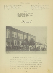 Page 9, 1950 Edition, Wingo High School - Warrior Yearbook (Wingo, KY) online yearbook collection