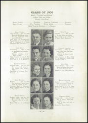 Page 11, 1936 Edition, Greensburg High School - Green and Gold Yearbook (Greensburg, KY) online yearbook collection