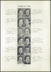 Page 13, 1936 Edition, Greensburg High School - Green and Gold Yearbook (Greensburg, KY) online yearbook collection