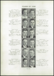 Page 14, 1936 Edition, Greensburg High School - Green and Gold Yearbook (Greensburg, KY) online yearbook collection