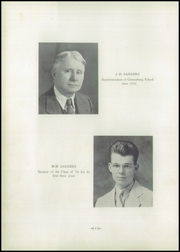 Page 8, 1936 Edition, Greensburg High School - Green and Gold Yearbook (Greensburg, KY) online yearbook collection