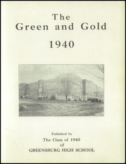 Page 3, 1942 Edition, Greensburg High School - Green and Gold Yearbook (Greensburg, KY) online yearbook collection