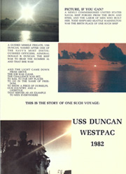 Page 5, 1982 Edition, Duncan (FFG 10) - Naval Cruise Book online yearbook collection