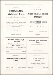 Benton High School - Arrow Yearbook (Benton, KY) online yearbook collection, 1960 Edition, Page 104