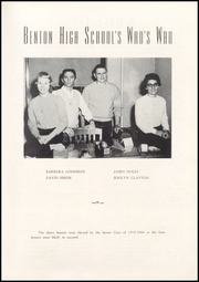 Page 27, 1960 Edition, Benton High School - Arrow Yearbook (Benton, KY) online yearbook collection