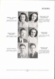 Page 14, 1947 Edition, Irvine High School - Mirror Yearbook (Irvine, KY) online yearbook collection