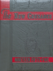 1955 Edition, Old Kentucky Home High School - New Crusader Yearbook (Bardstown, KY)