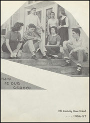Page 7, 1957 Edition, Old Kentucky Home High School - New Crusader Yearbook (Bardstown, KY) online yearbook collection