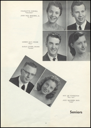 Page 15, 1958 Edition, Old Kentucky Home High School - New Crusader Yearbook (Bardstown, KY) online yearbook collection